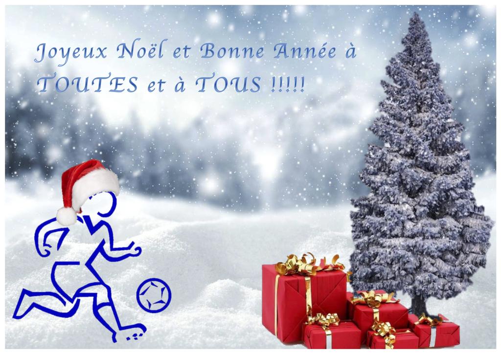 Joyeux Noël et Bonne Année à tous !! - Club Omnisport de Chavanod section  Football